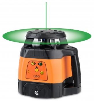 mess werkzeug kiste geofennel h v rotationslaser flg 245hv green tracking im set mit empf nger. Black Bedroom Furniture Sets. Home Design Ideas