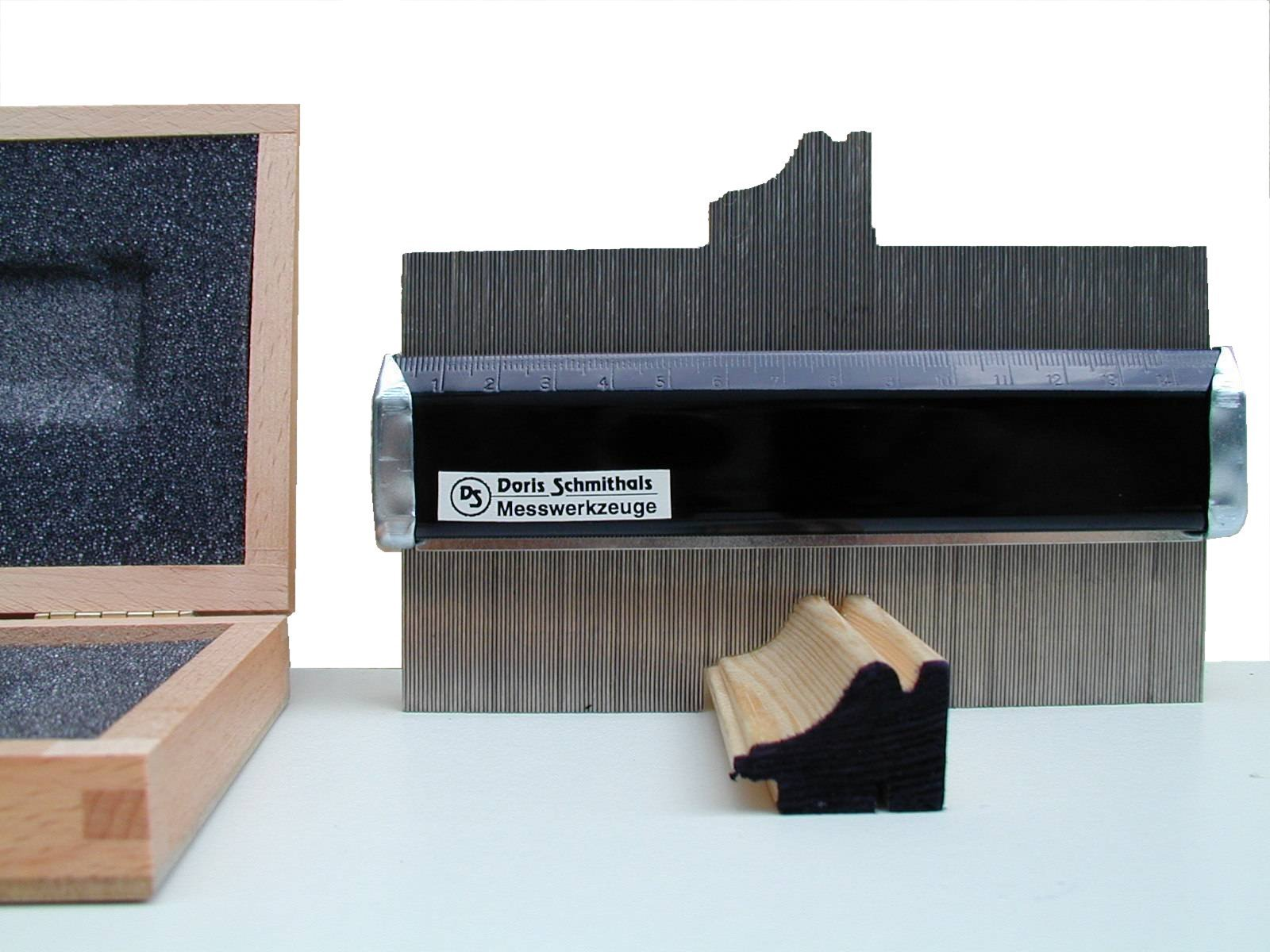 mess werkzeug kiste abtastschablone profil. Black Bedroom Furniture Sets. Home Design Ideas